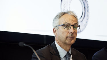 Macquarie Bank's outgoing chief executive Nicholas Moore.