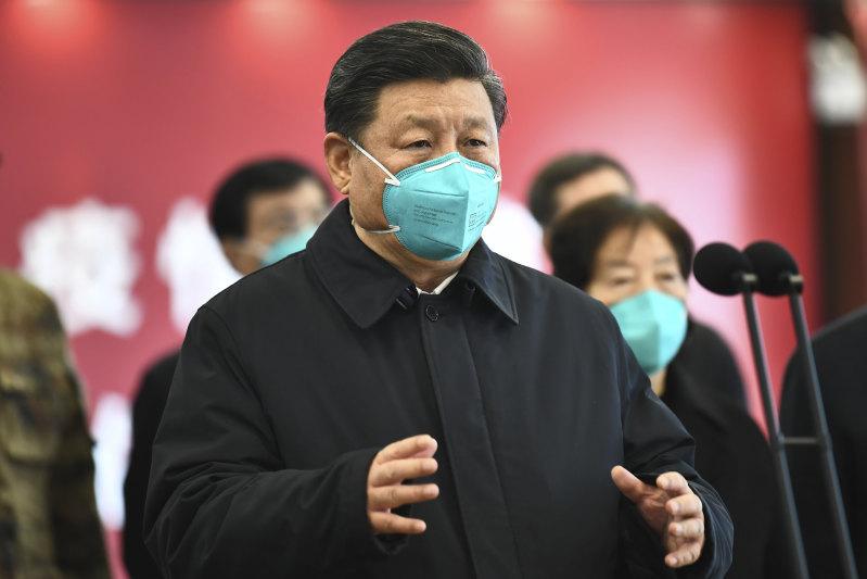 Xi Jinping visited Wuhan last week.