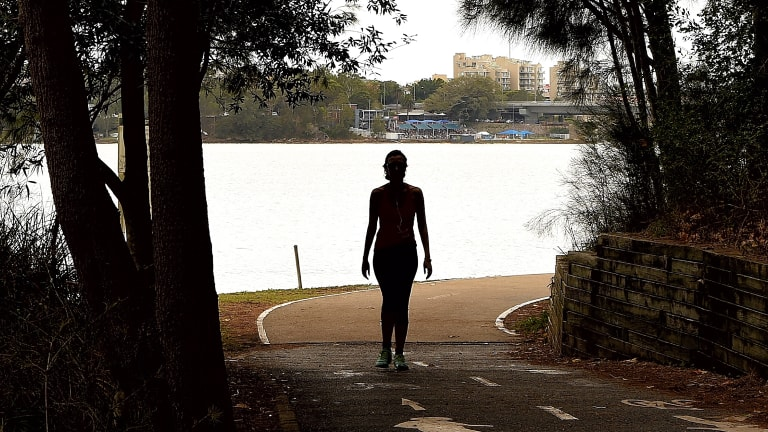 A number of women were allegedly assaulted on the Bay Run in Lilyfield.