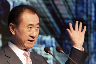 Chinese billionaire Wang Jianlin saw his fortune soar as AMC Entertainment shares soared by around 300 per cent.