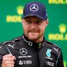 Bottas wins in Turkey as Verstappen edges ahead of Hamilton in title race