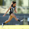 Young Magpie reveals club reacted to racial slur made against her