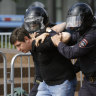 Hundreds arrested in Moscow during second weekend of vote protests