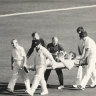 From the Archives, 1982: Australian bowler hospitalised after Test match riot