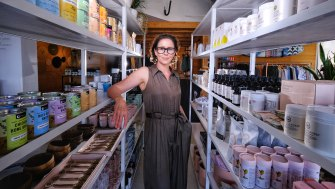 Kellie Langeliers expects a busy few months for her business, Plover Wellbeing.