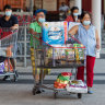 Economy back to its pre-virus size as shoppers continue spending spree