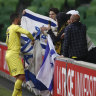 Phoenix bans national flags after Israeli striker's controversial celebrations