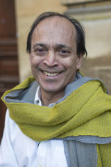 Author Vikram Seth.