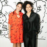 Michelle Grey and Shantell Martin at Paddington's MCM House.