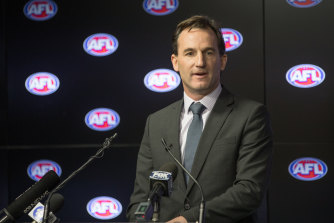 AFL general counsel Andrew Dillon.