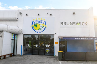 A Futsal centre in Brunswick was listed as a new Victorian exposure site on Tuesday.
