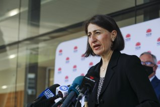 "NSW Premier Gladys Berejiklian said the government was examining ""positive ways"" to encourage vaccine uptake."