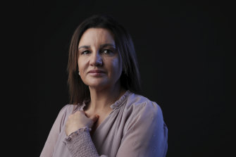 """Jacqui Lambie: """"Going back to a military career at  all of 19 was really  quite difficult, so I'll always be grateful that you were beside me."""""""