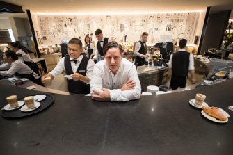 Yuri Angele, commercial director of the Brunetti chain of cafes and patisseries, says he is constantly asked to open new stores in south-east Asia.