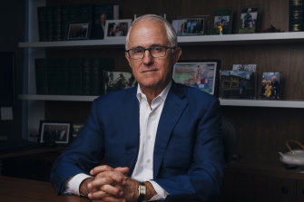 Former prime minister Malcolm Turnbull also served as water resources and environment minister in 2007.