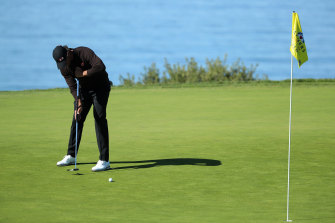 Adam Scott finished with a share of 10th at Torrey Pines.