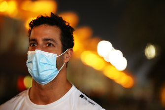Daniel Ricciardo had what his Renault F1 team called an 'inconclusive' COVID-19 test result earlier this year.