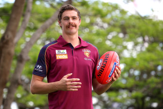 Joe Daniher moved to Brisbane this off-season as a free agent.