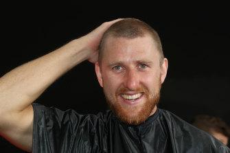 Dyson Heppell, sans hair.