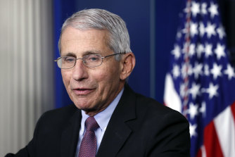 Dr Anthony Fauci, director of the National Institute of Allergy and Infectious Diseases, and two other members of the White House coronavirus taskforce, have placed themselves in quarantine after contact with someone who tested positive for COVID-19.