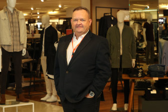 Myer CEO John King says the result was achieved despite the lockdowns and store closures.