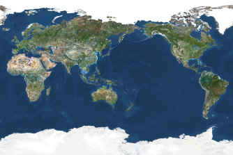 The Pacific Ocean, stretching from eastern Australia and Asia to the west coasts of the Americas, covers about a third of the Earth's surface  – and is where La Ninas and El Ninos are formed.