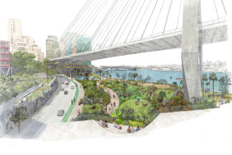 Planning and Public Spaces Minister Rob Stokes said the area would include new public space.