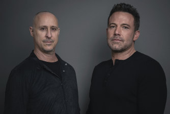 Director Gavin O'Connor and Ben Affleck.