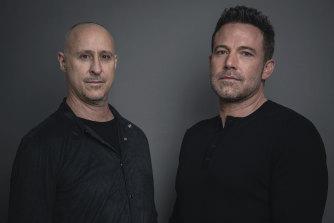 Director Gavin O'Connor and Ben Affleck.