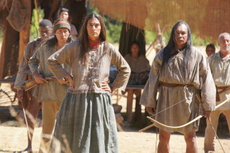 In one of the recreations, a Seminole tribe is massacred by Josh Hartnett's agent of 'civilisation'.
