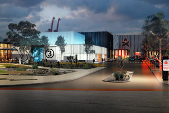 Several sound stages would be built at Victoria Quay in Fremantle as part of a new $100 million studio.