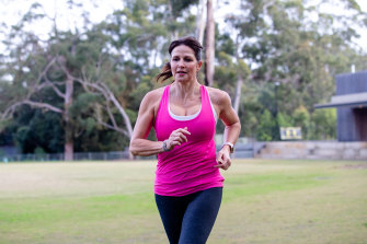 Caroline Bain finds work easier and more enjoyable if she has exercised in her lunch break.