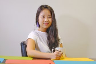 Joey Bui is becoming a lawyer but that doesn't mean she's turning her back on writing.