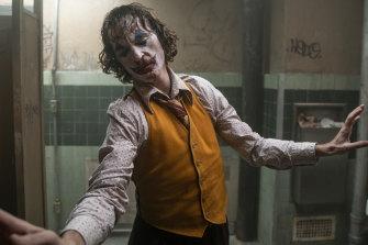 Globe frontrunner: Joaquin Phoenix's acclaimed turn in Joker.