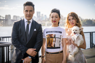Concierge Karim Gharbi looks after businesswoman Lulu Pallier and charity princess Crystal on Sydney's Crazy Rich Asians, part of 10's Pilot Week.
