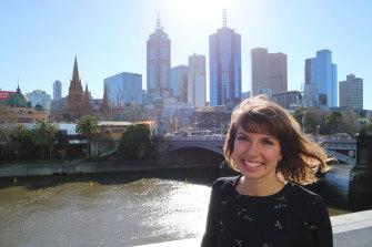 Gitta Scheenhouwer was living the dream in Melbourne.