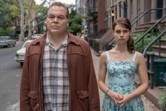 The Nitty Gritty Vincent D'Onofrio and Lucy Fry in Godfather of Harlem on Stan.