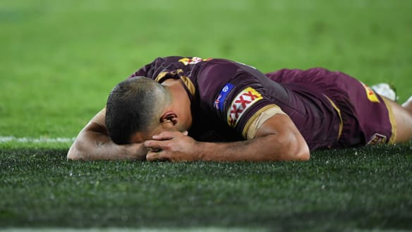 Freddy's Blues end Queensland dynasty with backs to wall in Origin II