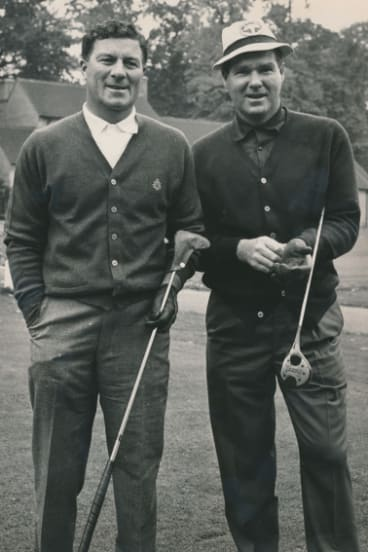 Thomson (left) and Nagle in 1965.