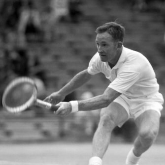 Rod Laver's 1962 Grand Slam started with victory at the Australian Open.
