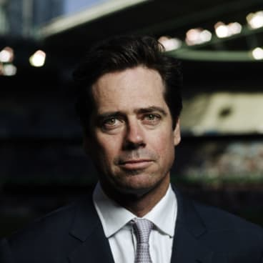 AFL chief executive Gil McLachlan