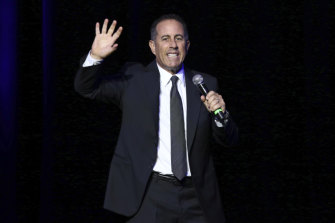 Jerry Seinfeld perfoms in New York in 2016.
