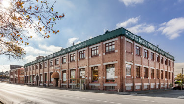 The building housing Schots Home Emporium at 380-406 Hoddle Street Clifton Hill is for sale.