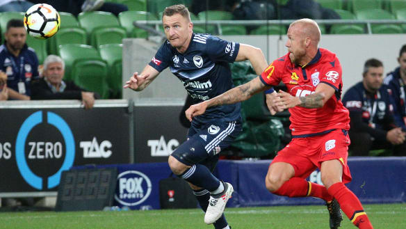 Melbourne Victory's win over Adelaide revives A-League finals hopes