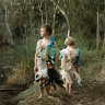 'They really stink': Photographer makes dresses from Merri Creek waste