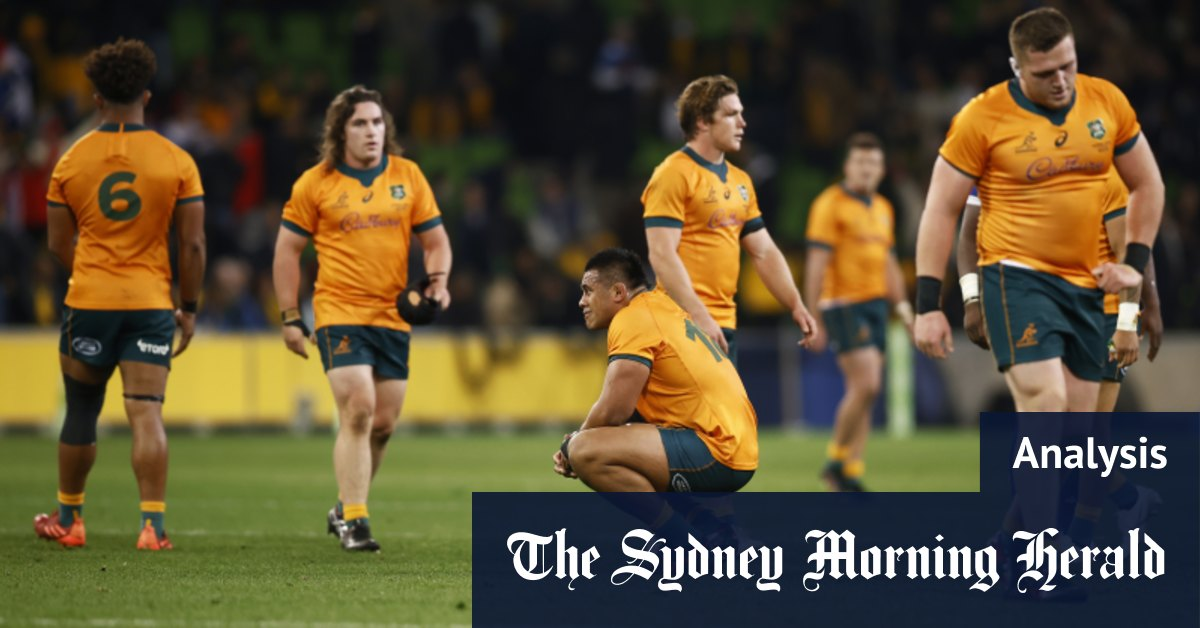 The play that defined Wallabies' inadequacies and sent series to a decider