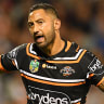 Wests Tigers in nervous wait over Benji's ankle