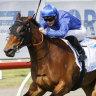 Savatiano roared away with The Hunter. on Saturday,