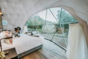 Cross Hill Lodge and Domes, Lake Hawea, New Zealand