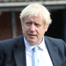 Amid chaos, Johnson presses flesh in sixth most marginal electorate